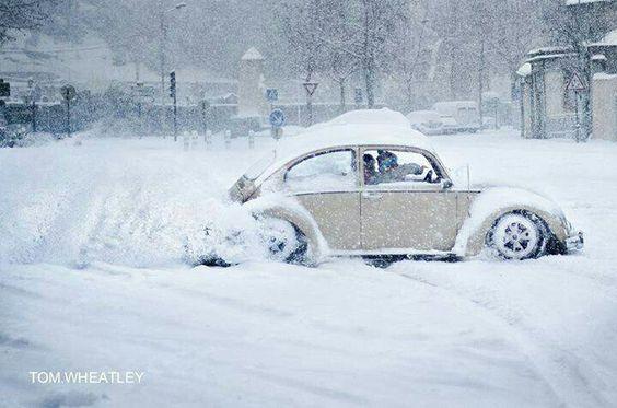 snow drift, looks like fun!