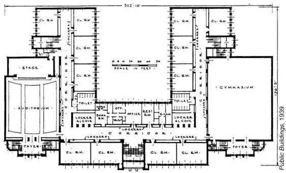 Elementary School Building Design Plans The Blueprint