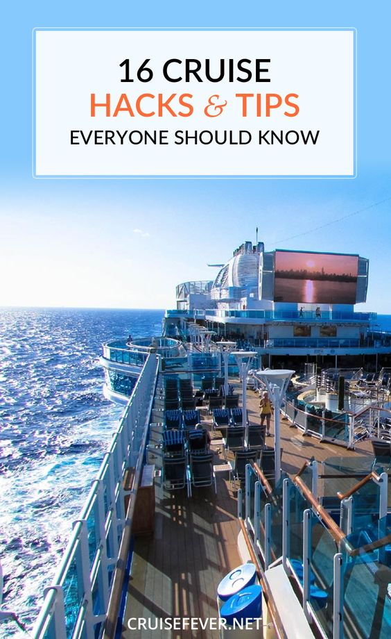 16 cruise hacks and tips that everyone should know. Don't be a #cruise rookie, cruise like a pro from day one.