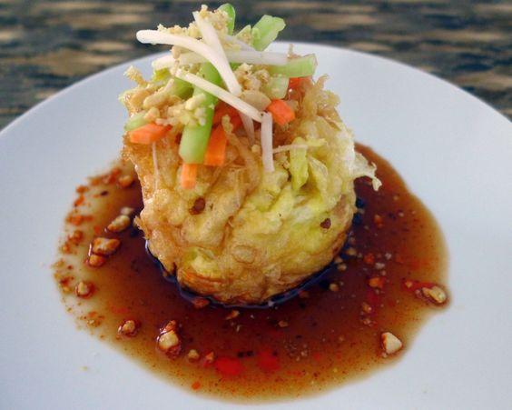 Tahu Telor (sorte d'omelette indonésienne au tofu)