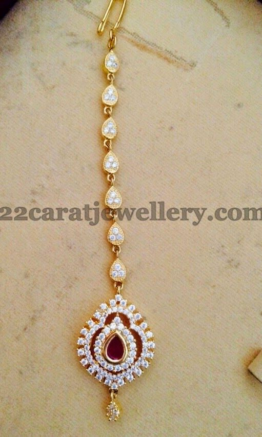 Bridal Maang Tikka Designs Jewellery Pinterest