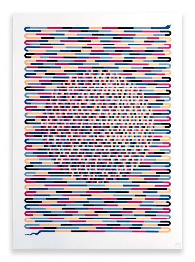 Designspiration — Finding the Pattern - Poster - Hvass