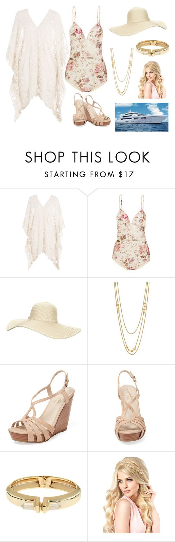 """""""Yacht Life"""" by lby54229 ❤ liked on Polyvore featuring Eberjey, Zimmermann, Reger by Janet Reger, Gorjana, Seychelles and Alexis Bittar"""