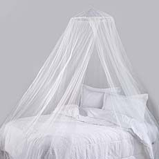 Siam White Bed Canopy- with white lights this will sparkle baby's ...