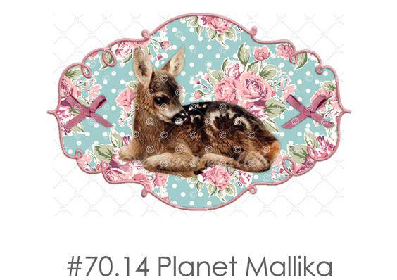Bügelbild REH von Planet Mallika auf DaWanda.com