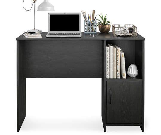 Ameriwood Nightfall Oak Student Desk Big Lots In 2020 White Desks Student Desks Desk