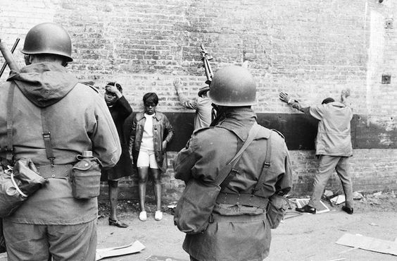 """The Ranger Nation has been credited with keeping the South Side of Chicago """"cool"""" during the summer of 1967 and the spring of 1968, following the assassination of Dr. Martin Luther King.""""  Excerpt from the May 1969 Issue of the Atlantic: Chicago's Blackstone Rangers (I). Photographer unknown."""
