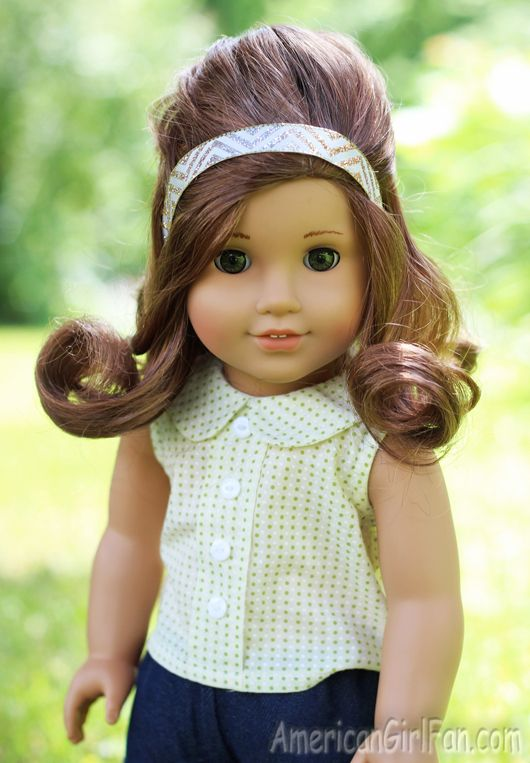 Awesome Doll Hairstyles American Girls And American Girl Dolls On Pinterest Short Hairstyles Gunalazisus