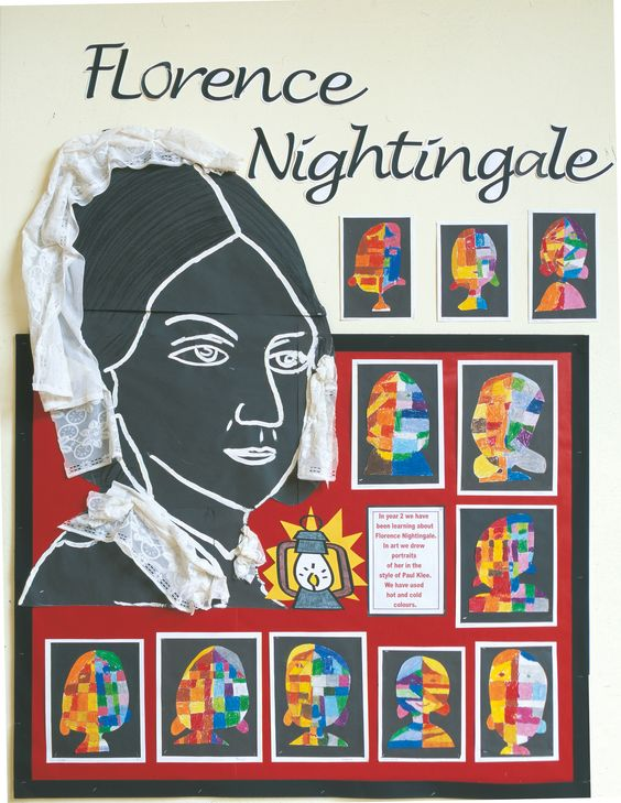 Love this idea for exploring the artist Paul Klee whilst looking at Florence Nightingale