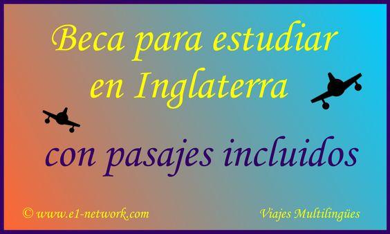 Más información en:     http://www.e1-network.com/notibecas/becanoticia.html