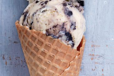 Cookies & cream ice-cream.
