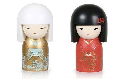 Les poupées Kokeshi porte-bonheur