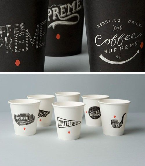 Branding for Coffee Supreme in New Zealand by design studio Hardhat Design.