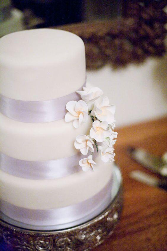 lavender ribbon cake