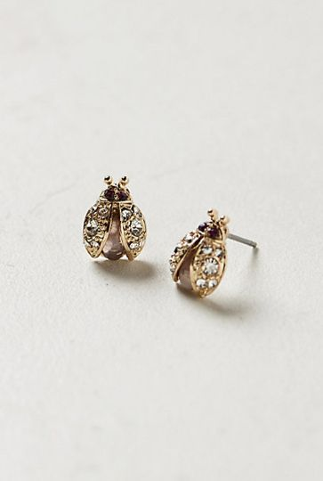 June Bug earrings from Anthropologie ... I die.