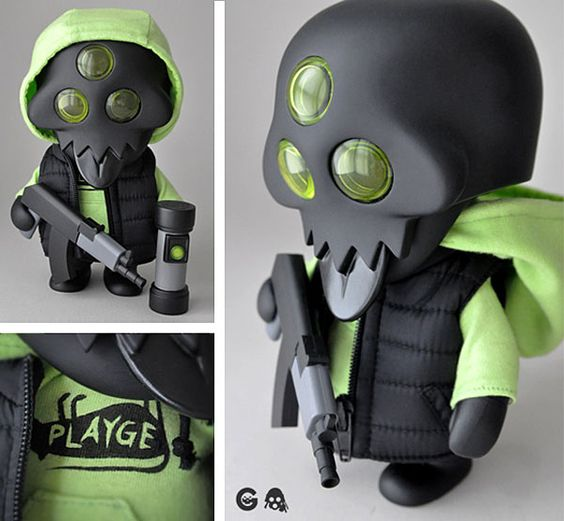 Gohst s003 | SDCC2012 Exclusive | Squadt | Edition: 125 | Artist: Ferg