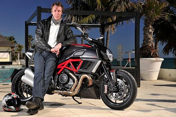 One of the world's top moto journalists, Kevin Ash, has just lost his life after an accident while on a press launch in South Africa. He's shown here with a bike he admired, the Ducati Diavel. RIP Kevin, the motorcycling community will miss you.