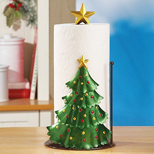 Christmas Kitchen Decoration Christmas Tree Paper Towel Holder Christmas Kitchen Decor Paper Towel Holder Unique Paper Towel Holder