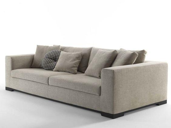 ORAZIO 4 seater sofa by FRIGERIO POLTRONE E DIVANI
