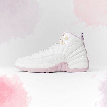This 'Plum Fog' Air Jordan Heiress GG is for little ladies with royal tastes. Available at kickbackzny.com.