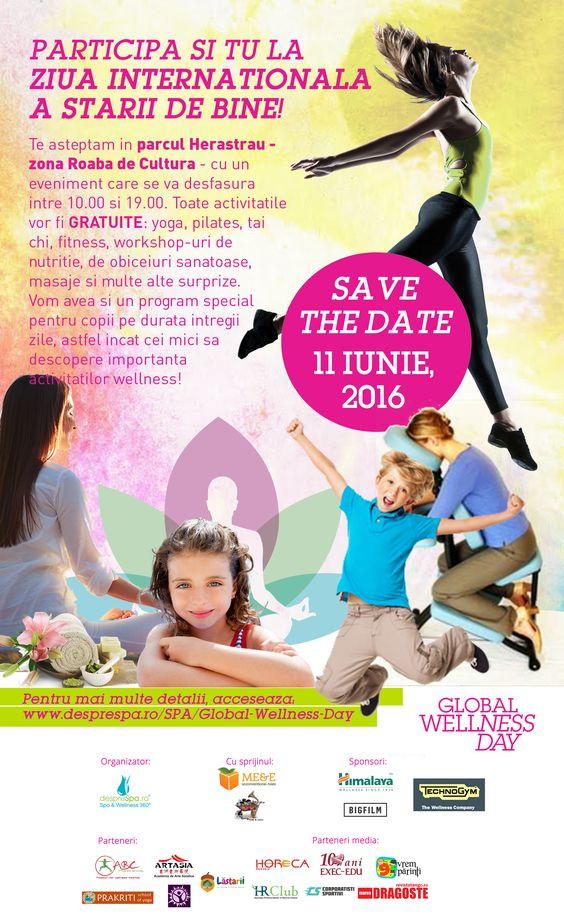 Global Wellness Day 2016 Herastrau Roaba de Cultura