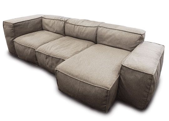 peanut modular sofa by hudson furniture modular sofa apartment therapy and apartments