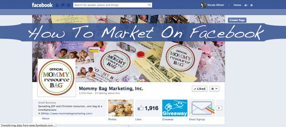 How To Market On Facebook