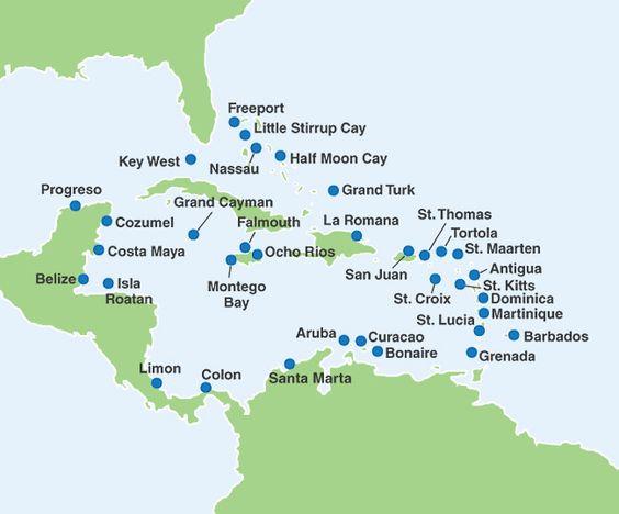 Cozumel Cruise To Caribbean And The O Jays On Pinterest