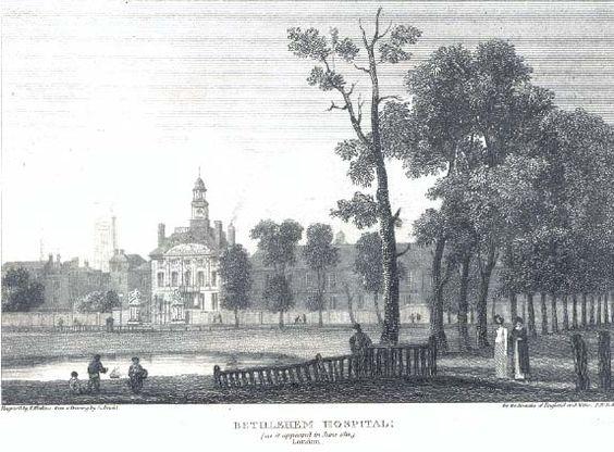 1811 Bethlehem Hospital, London.