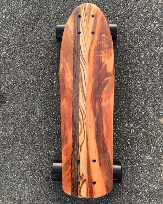 What I love about the Tiger Mini Croozer is each board has it own unique wood…