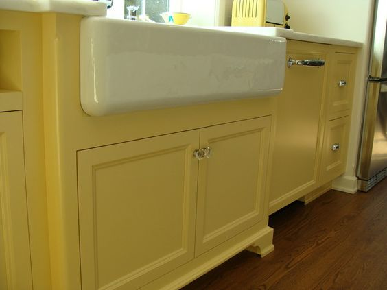 ... sinks house farmhouse farmhouse sink kitchen kitchens yellow kitchens