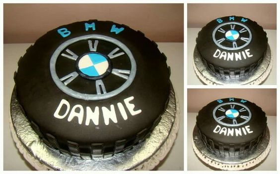 A Bmw Car Tyre Cake Cakes By Lil Delights Pinterest Cars