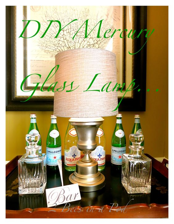 diy mercury glass i can 39 t stop mercury glass paint. Black Bedroom Furniture Sets. Home Design Ideas