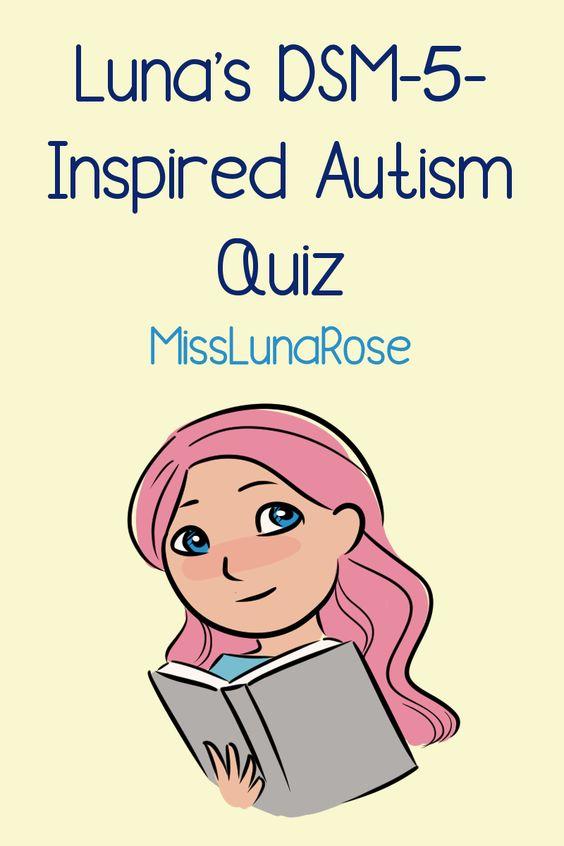 Luna's DSM-5-Inspired Autism Quiz