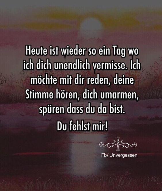 Es ist jeden Tag so. Jeder Moment ohne Dich ist un... - #dich #es #grau #ist #jeden #Jeder #Moment #ohne #Tag