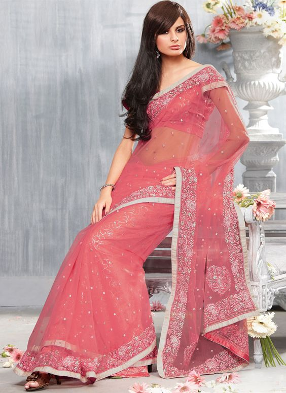 embroidery saree online
