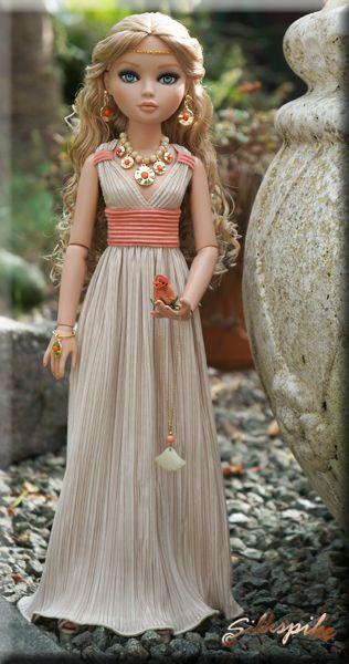 Grecian Dress - step by step Photo tutorial  Bildanleitung