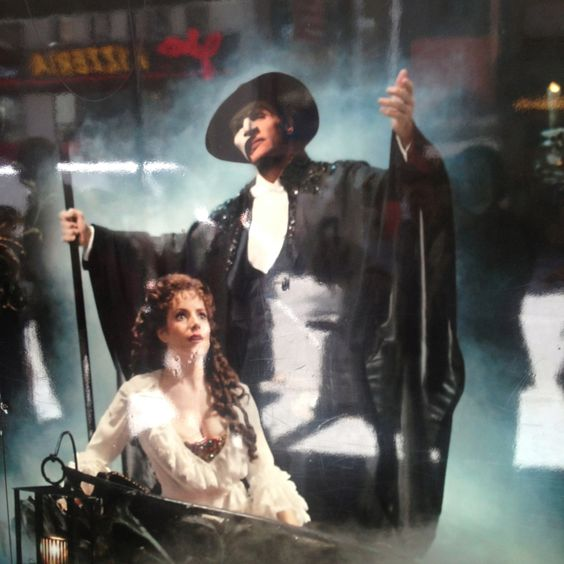 Sunny Norton Meets Phantom Of the Opera...
