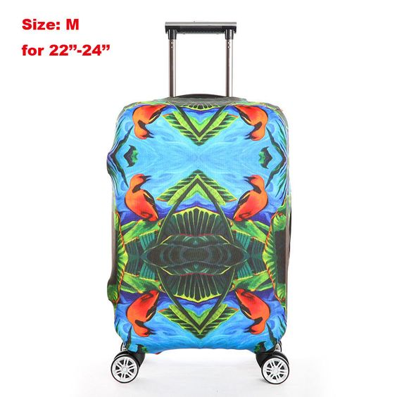 Hot Item! Luggage Protective Stretch Fashion Design Interchangeable Case Cover 4 Styles 4 Sizes