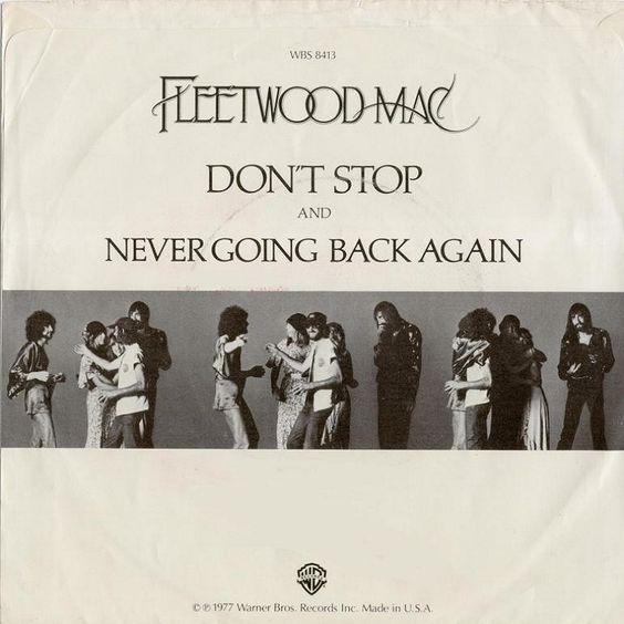 Fleetwood Mac – Don't Stop (single cover art)