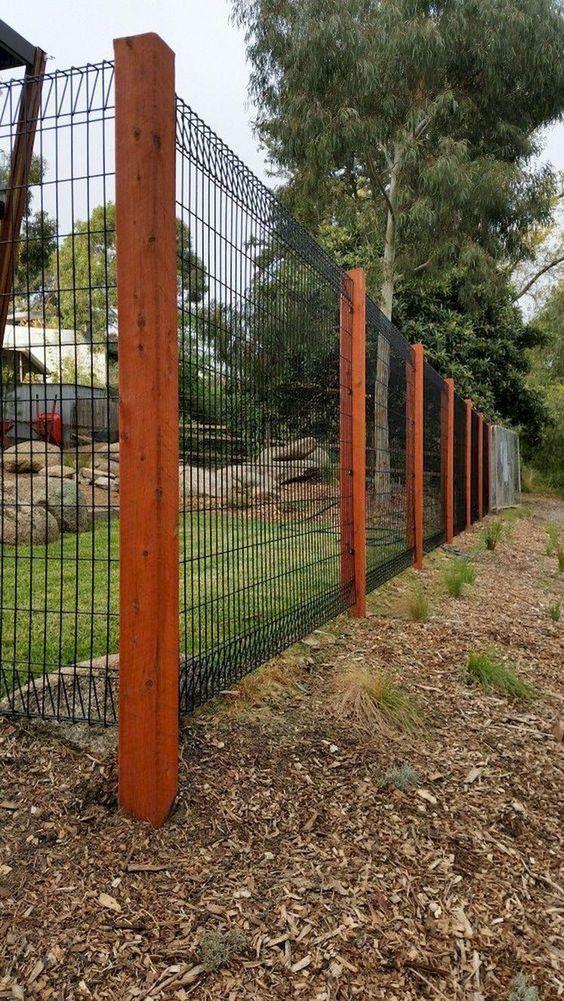 40 Amazing Backyard Fence Decor Design Ideas 2020 On Bahceler