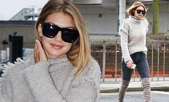 El look de la semana: Gigi Hadid en topo - Moda «http://rw.web.ve/1TO0qUK»