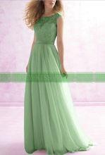 Em estoque New Arrival 2015 Formal Lace Chiffon Long Beach vestidos dama de honra baratos Under 50 robe demoiselle d'honneur(China (Mainland))
