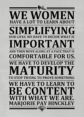 Simplify. Relax. Enjoy.