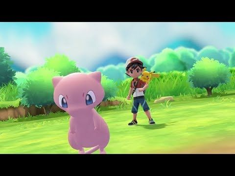 Mew Pokeball Plus Announcement For Pokemon Let S Go Pikachu