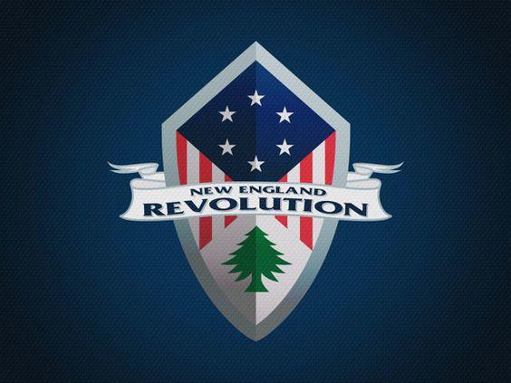 New England Revolution Soccer Logo Mockup by André Araujo, via Behance  #mls #sportlogo #sportlogos #soccer #newenglandrevolution #nerevs #revs