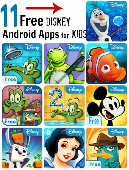 11 Free Disney Android Apps for Kids: Frozen Free Fall, My Muppets Show, Seven Dwarfs, + More!