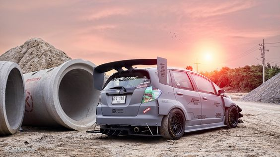 TunedAndRaceCars — radracerblog:   Honda Jazz