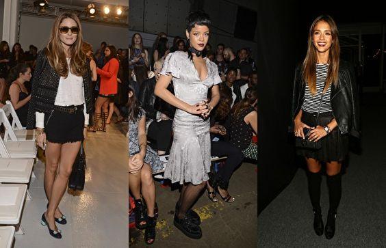New York Moda Haftası'nın takipçisi ünlüler - http://www.diyetinasilyapilir.com/kadinsal/new-york-moda-haftasinin-takipcisi-unluler/