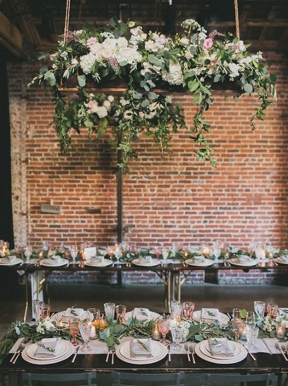 Ivory and Ink – A Moody and Dramatic Industrial Wedding Palette